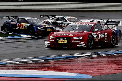 Audi je vítězem DTM 2013 i v klasifikaci týmů, Audi získalo tak v jediný den tři mistrovské tituly