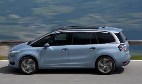 Nový prostorný až sedmisedadlový Citroën Grand C4 Picasso v prodeji na našem trhu!