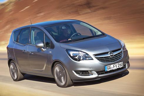 Nový Opel Meriva: světová premiéra na autosalonu v Bruselu v lednu 2014 a první dodávky již také v lednu 2014