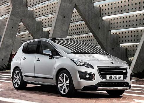 Nový modernizovaný Crossover Peugeot 3008 a Peugeot 3008 HYbrid4 (velmi podrobná informace)