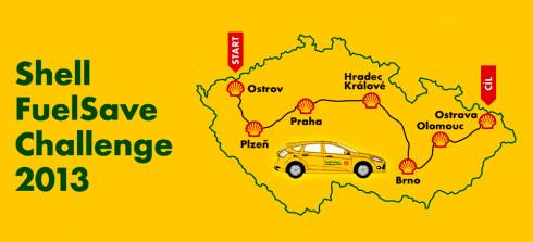 Soutěž v říjnové úsporné jízdě Shell FuelSave Challenge 2013 zná své vítěze