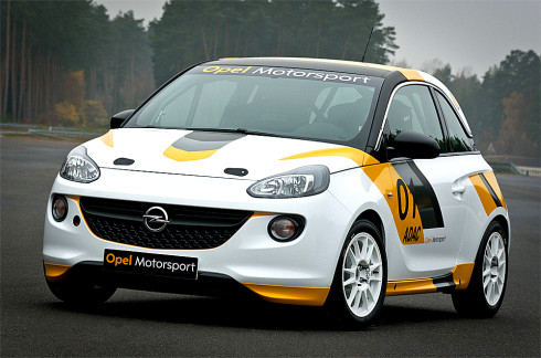 Autoperiskop.cz  – Výjimečný pohled na auta - Opel C&S a Hájek Rally Team připravují Opel ADAM Rally Cup