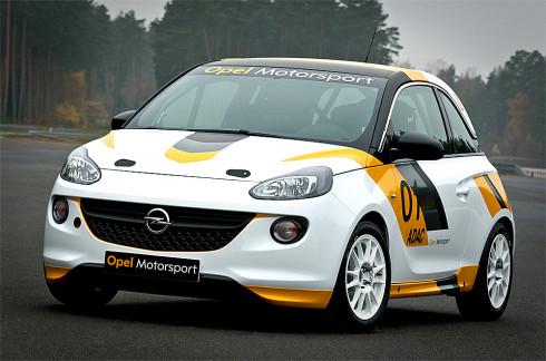 Opel C&S a Hájek Rally Team připravují Opel ADAM Rally Cup
