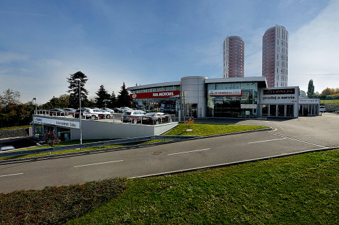 Nový dealer Mitsubishi v Praze