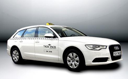 150 vozů Audi A6 v provedení limuzína a kombi pro novou taxislužbu TICK TACK
