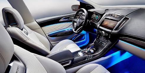 Autoperiskop.cz  – Výjimečný pohled na auta - Ford představuje novou studii Ford Edge Concept ve světové premiéře na autosalonu v Los Angeles