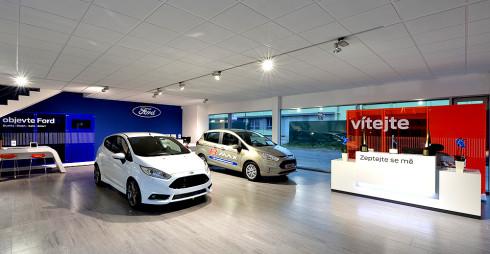 Nejmodernější showroom Fordu v ČR je ve Valašském Meziříčí!