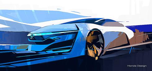 Na autosalonu v Los Angeles bude 20. listopadu ve světové premiéře představen prototyp Honda FCEV Concept