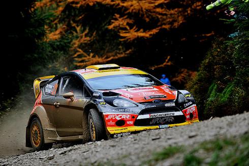 Martin Prokop na Ford Fiestě RS WRC šestý na Wales Rally GB, posledním závodu Mistrovství světa v rally roku 2013
