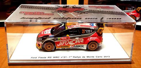 Ford Fiesta WRC Martina Prokopa jako model v limitované 300 kusové edici jako vstupenka na sedadlo spolujezdce
