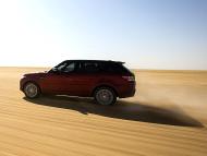 Autoperiskop.cz  – Výjimečný pohled na auta - Range Rover Sport stanovil nejrychlejší zaznamenaný čas pro přejezd pouště Rub al-Chálí v délce 849 km (česky Pustá končina) sériovým vozem.