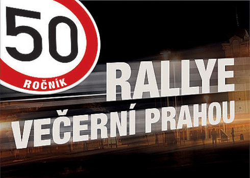 50. ročník Rallye večerní Prahou před startem