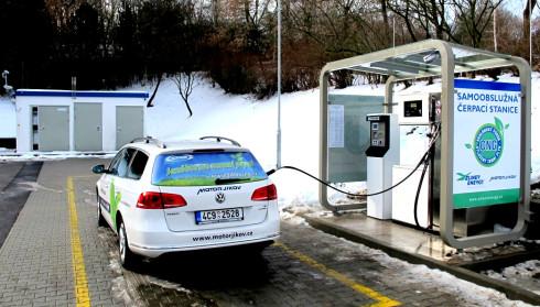 V lednu 2014 se otevře již 50. veřejná plnicí stanice na stlačený zemní plyn (CNG)