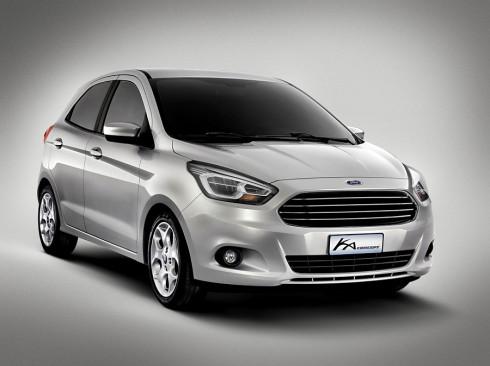 Ford včera v Barceloně představil zcela nový malý praktický automobil: Ka Concept