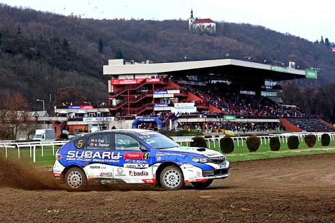 Štajf v Subaru aréně na stupních vítězů