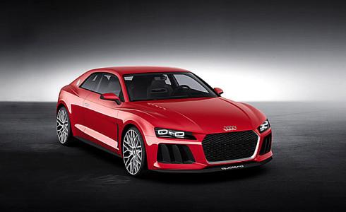 Audi představilo ve světových premiérách v Las Vegas v USA fascinující technickou studii Audi Sport quattro laserlight concept a interiér nové generace TT se zdůrazněním, že tato novinka bude uvedena na trh ještě v průběhu letošního roku