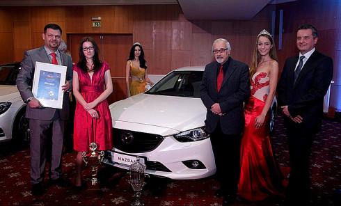 Mazda6 je Autem roku 2014 v České republice