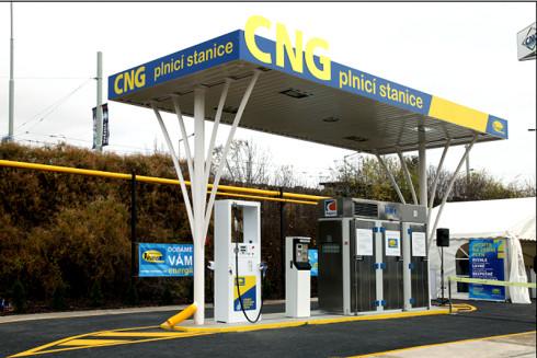Spotřeba CNG za rok 2013 vzrostla o 44 procent