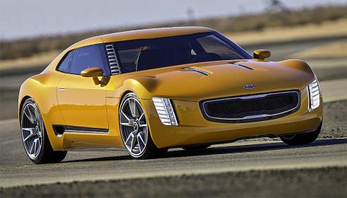 Kia představila na autosalonu v Detroitu sportovní koncept 2+2 místného kupé GT4 Stinger s výkonem 315 k s pohonem zadních kol