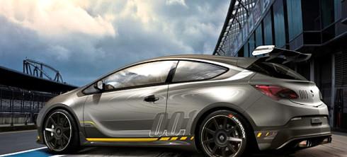 Studie supersportovního kupé Opel Astra OPC EXTREME na áutosalonu v Ženevě (6. až 16. března)