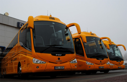 STUDENT AGENCY uvedla do provozu 10 nových autobusů Scania Irizar PB – Fun and Relax