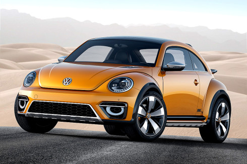 Světová premiéra studie blízké sériové výrobě Volkswagen Beetle Dune v Detroitu (13.-26.ledna)