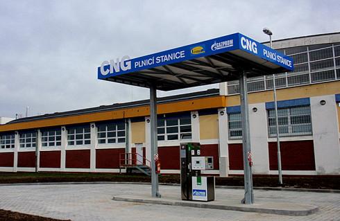 Nová plnicí stanice na stlačený zemní plyn (CNG) bude otevřena 6. března v Plzni