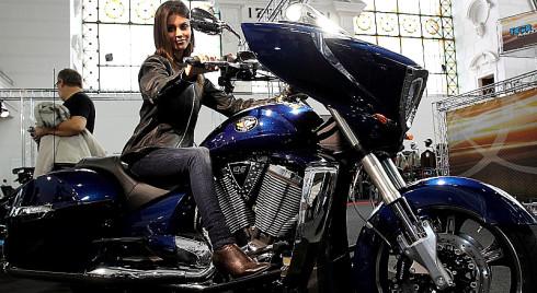 Co nabídne veletrh Motocykl 2014 na výstavišti v pražských Holešovicích od čtvrtka 6. do neděle 9. března