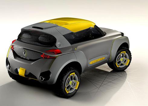Pětimístný kompaktní sedan KWID CONCEPT: nová vize automobilu jako odpověď Renaultu na potřeby nových trhů