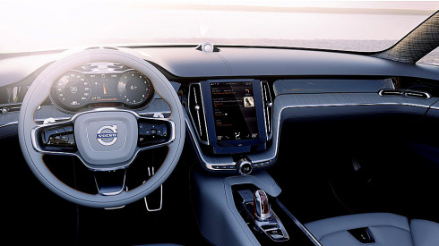 Společnost Volvo Car Group představí 4. března na ženevském autosalonu třetí z řady koncepčních vozidel: nový Concept Estate