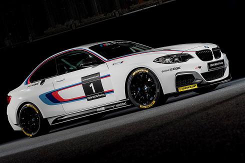 Nové BMW M235i Racing patří k nejpůsobivějším novým závodním automobilům. V sezóně 2014 bude tento vůz vybaven výhradně závodními pneumatikami Dunlop