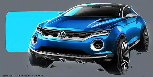 Die neue Volkswagen SUV-Studie T-ROC