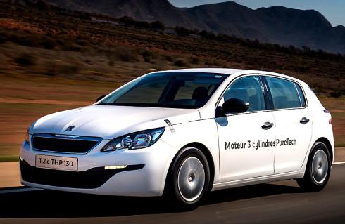Rekordně nízká spotřeba vozu Peugeot 308 s tříválcovým benzínovým motorem PureTech