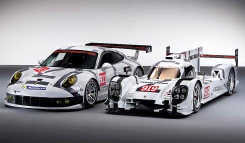 Porsche na probíhajícím autosalonu v Ženevě představilo ve světové premiéře zcela nové Porsche 919 Hybrid a Porsche 911 RSR a dále ve světové premiéře Macan S Diesel a v evropské premiéře 911 Targa
