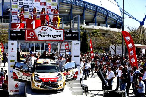 Citroën na Rally Portugalsko (3. – 6. dubna 2014)