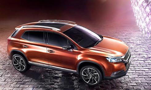 Nový SUV model Citroen DS 6WR, který byl vyvinut v Paříži, hlavním městě luxusu a módy, bude představen na pekingském autosalonu