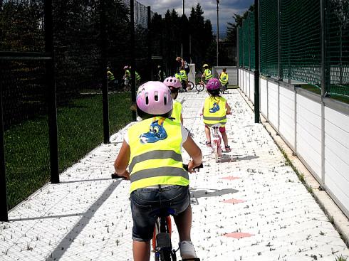 Již sedmým rokem se děti s Bezpečnou školkou učí, jak se správně chovat v silničním provozu