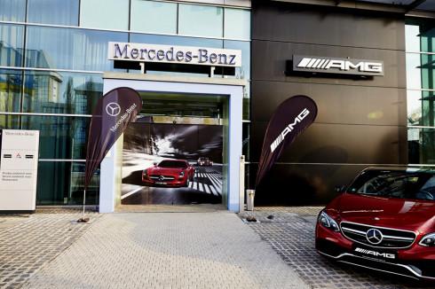Ve čtvrtek 3. dubna 2014 bylo v prodejním a servisním centru Mercedes-Benz v Praze na Chodově, oficiálně otevřeno AMG Performance Center
