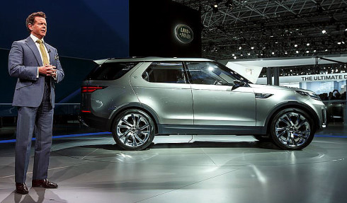 Land Rover oznámil nový model Discovery Sport