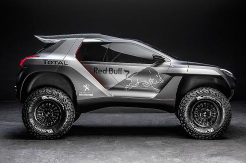 Autoperiskop.cz  – Výjimečný pohled na auta - Nový Peugeot 2008 DKR vyrazí hájit barvy týmu Peugeot Total na Rally Dakar v lednu příštího roku