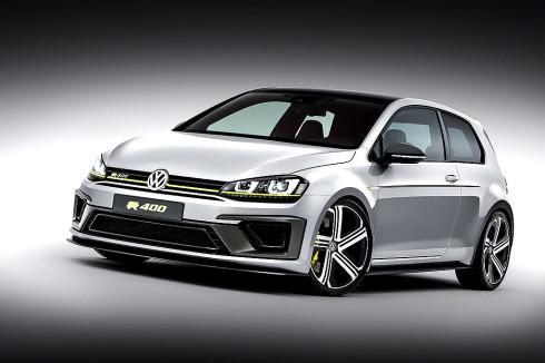 Světová premiéra studie sportovního vozu Volkswagen Golf R 400 na autosalonu v Číně (velmi podrobná informace)