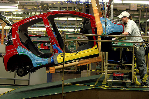 Kolínská automobilka TPCA Toyota Peugeot Citroën zvyšuje výrobu a proto i nábor zaměstnanců