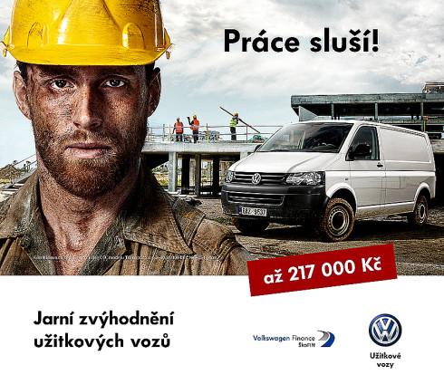 Volkswagen připravil se zvýhodněním až 217 000 Kč jarní kolekci svých úspěšných užitkových vozů