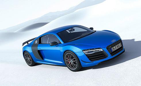 Supersportovní kupé Audi R8 LMX – první sériově vyráběný vůz na světě s laserovými dálkovými světlomety lze již objednávat z limitované edice o počtu pouze 99 vozidel