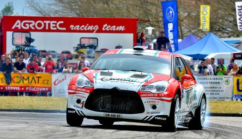 První česká čtyřkolka Citroën slavila úspěch na Rallye Český Krumlov