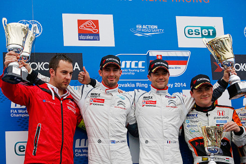FIA WORLD TOURING CAR CHAMPIONSHIP 2014 - SLOVAKIA