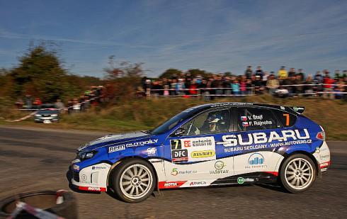 Úřadující domácí šampión produkčních vozů Vojtěch Štajf si pro svůj první letošní start zvolil Rallye Český Krumlov, kde svedl loni úspěšnou bitvu o prvenství ve třídě 3