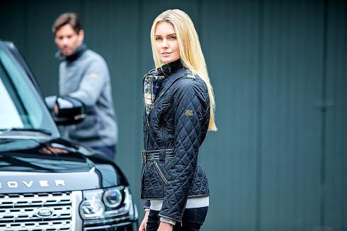 Dvě britské ikony, značky Barbour a Land Rover, spolupracují na návrhu oblečení pro sezónu podzim/zima 2014