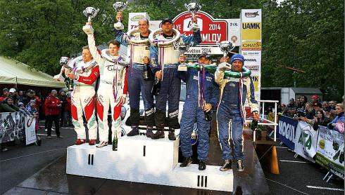 Posádka EuroOil – invelt teamu Václav Pech jun. – Petr Uhel s vozem MINI John Cooper Works 1,6 T zvítězila na Rallye Český Krumlov