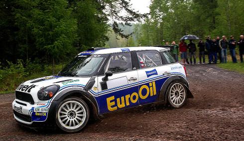 Václav Pech jun. a Petr Uhel odstartují s MINI John Cooper Works dnes – v pátek 2. května v 16 hodin na Rallye Český Krumlov